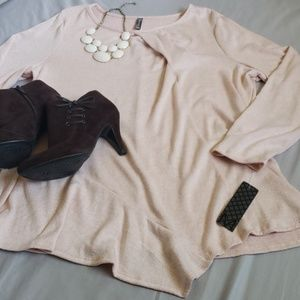 Massini Sweaters - NWT Massini lightweight pink sweater